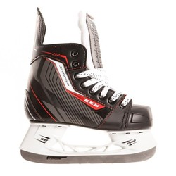 CCM Jetspeed 250 Youth Hockey Skates - Black/Red - Size: 12.5D