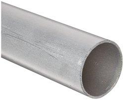 "Aluminum 6061-T6 Round Tubing ASTM B210 6""OD 5.625"" ID 60""L"