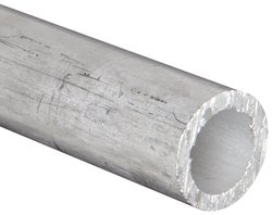 "Aluminum 6061-T6 Seamless Round Tubing ASTM B210 3-1/2""OD"