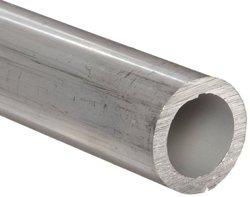 """Aluminum Seamless Round Tubing WW-T 700/3 3/4""""OD 0.652""""ID 0.049""""Wall 24"""" L"""