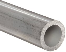 "Aluminum 2024-T3 Seamless Round Tubing WW-T 700/3 1.5"" OD"