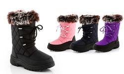 Snow Tec Snow Boots Blizz Toddler: Black/8