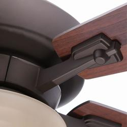 "Hampton Bay AL770-ORB Hawthorne II 52"" Oil-Rubbed Bronze Ceiling Fan"