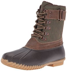 Jambu Women's Nova Scotia Duck Boots Army Brown: Size  6