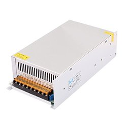 uxcell AC110V/220V to DC12V 50A 600W Switch Power Supply Driver for LED Light