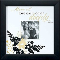 """Dicksons 10"""" x 10"""" Frame for for 4"""" Photo Wedding Wall Photo Frame"""