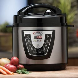 Tristar Power Pressure Cooker XL 6-Quart - Silver/Black (PPC)