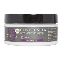 Design Essentials Olive & Shea Deep Fortifying Masque  7.5 oz.