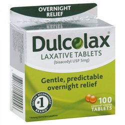 Dulcolax 5mg Gastro-resistant Tablets 100 Count - (10058.1)