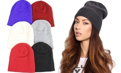 Women's 6-pack Slouchy Jersey Beanie