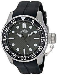 Invicta Pro Diver Men's Watch: 17510-black Band/black Dial