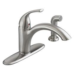 American Standard Quince 1-Handle Standard Kitchen Faucet -Stainless Steel