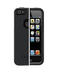 Genuine OtterBox Commuter Series Case for Apple iPhone 5 / 5s, Black