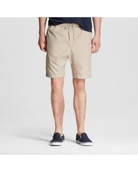 Mossimo Men's Zippered Shorts - Khaki - Size: Small