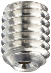18-8 Stainless Steel Set Screw Plain Finish Vented Hex Socket Drive