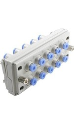 SMC KDM2007 Blue PBT Tube Fitting Rectangular Multi Connector