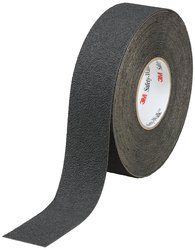 3M Safety Resistant Resilient Tapes & Treads - Black - Size:M