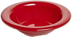 Carlisle 3304205 Sierrus Melamine Rimmed Fruit Bowls 45-oz Red Set of 48