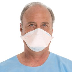 Halyard Health Filter Respirator & Surgical Face Mask - Orange - Small