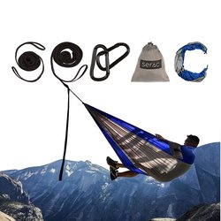 Serac Hammocks Classic Camping Hammock - Blue/Gray