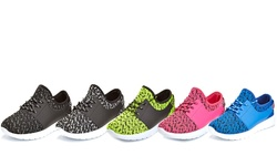 Womens Athletic Running Fashion Sneakers: Pink/6