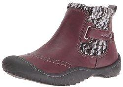 Jambu Women's Darcie Boot: Burgundy Size 8