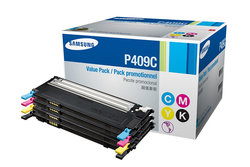 Samsung P409C Toner Cartridges Kit - CMYK