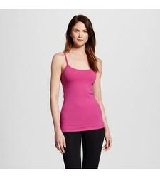Gilligan & O'Malley Women's Sleepwear Cami with Bra - Pink - Size: S