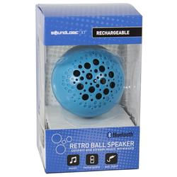 SoundLogic XT Rechargeable Wireless Bluetooth Portable Ball Speaker - Blue