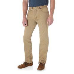Wrangler Men's Regular-Fit Jeans - British Khaki - Size: 36 x 29