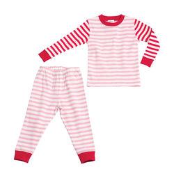 giggle giggle Better Basics Striped Snug Fitting Sleep Set (Organic Cotton)