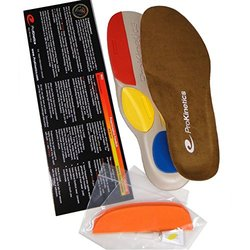 Relieve Back Pain, Knee Pain, Shin Splints and Foot Pain with ProKinetics Natural Body Balance Insoles you Customize to stop Over-Pronation and Supination related Posture problems. Include Easy Instructions and Phone Support. Experience Fast Relief! (Unis