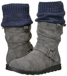 Muk Luks Women's Sky Winter Boots - Grey - Size: 9