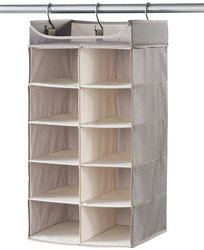Harmony 2' x 5' Twill Collection Shelf Organizer - Gray
