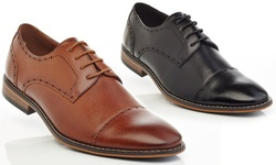 Gvx200 Lace Up Dress Shoes: Black/ 9.5