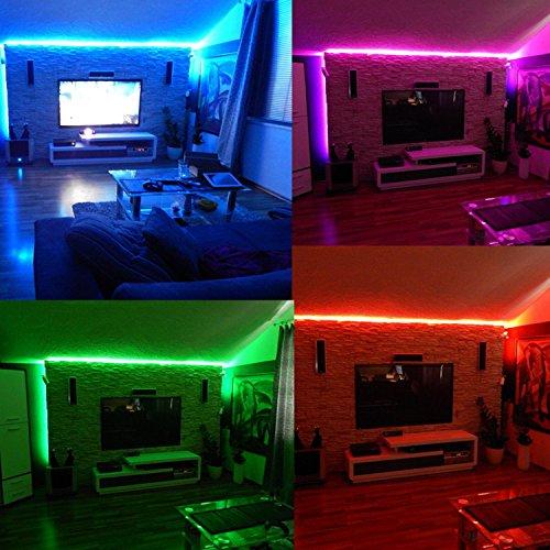 Color Tingkam Waterproof 5050 Smd 32 8ft 10m Rgb Led Strip Light Kit