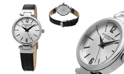 Stuhrling Original Women's Classic Leather Strap Watch - (GP15498)