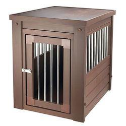 New Age Pet Eco Flex Crate Pet Table - Russet - EHHC403L