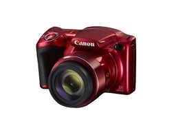 Canon Power Shot SX420 IS Red with 42x Optical Zoom & Built-In Wi-Fi