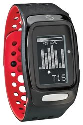 Sportline Sync Burn Fitness Band - Red/Black