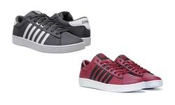 K-swiss Hoke Cmf Sneaker: Burgundy-black/9