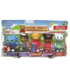 Jakks Pacific Daniel Tiger Neighborhood Friends Action Figures Set 1175914