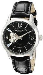 Stuhrling Original Men's 987.02 Legacy Analog Display Automatic Self Wind Black Watch