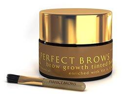 Perfect Brows (TM) Botanical Primer and Care Balm with Mini-Brush O.6 oz/18 ml