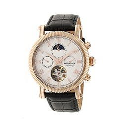 Heritor Automatic Men's Watches Winston Collection: Hr5205/silver Dial