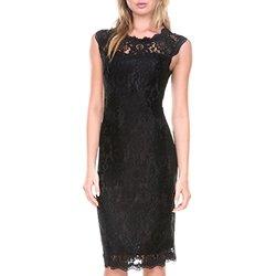 Stanzino Women's Rosette Sleeveless Cocktail Dress