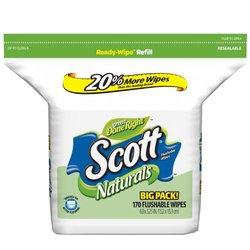 Scott Moist Wipes Refill (170 Wipes)