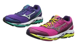 Paradox 2 Running Shoe: Purple-silver/9.0
