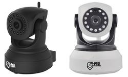 Black Label Cam 720p Hd Wifi Surveillance Camera: 2-pack (black)