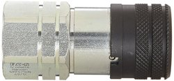 Hansen 3/4-16 UNF Steel Hydraulic Quick Coupler